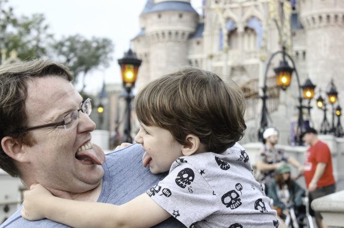 Funny faces in Disney