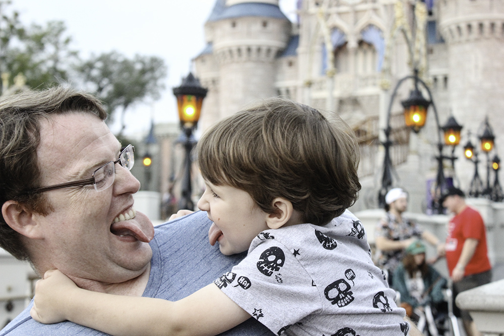 Funny faces in Disney