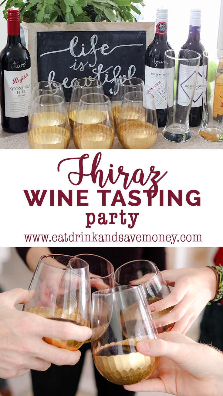How to host a shiraz tasting party