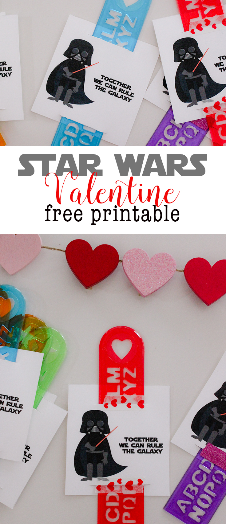 Print your own awesome Darth Vader Valentines for Valentine's Day. Star Wars Valentines are the way to go!