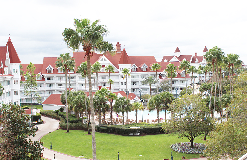 The Grand Floridian View from our room
