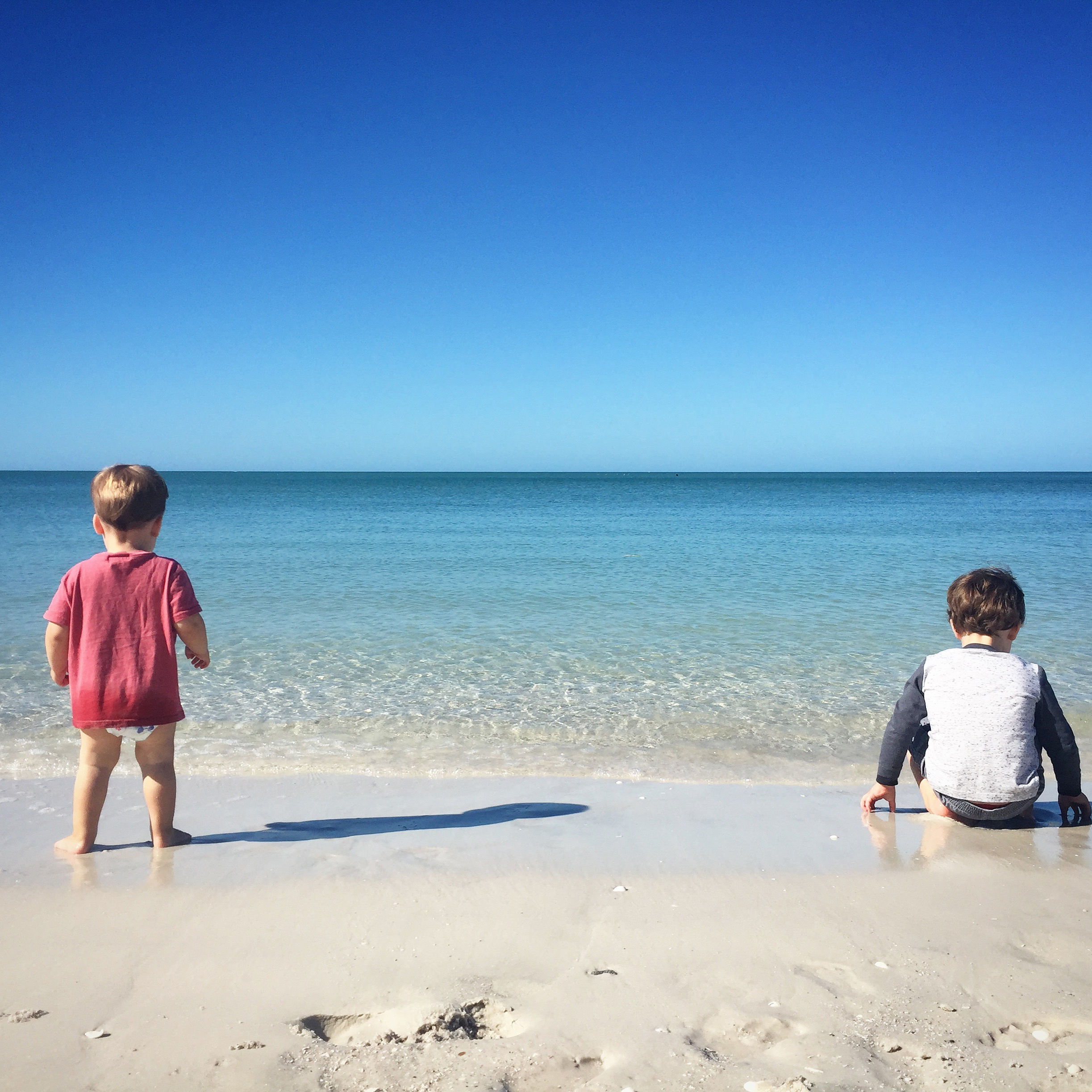 week in review: The boys at the beach