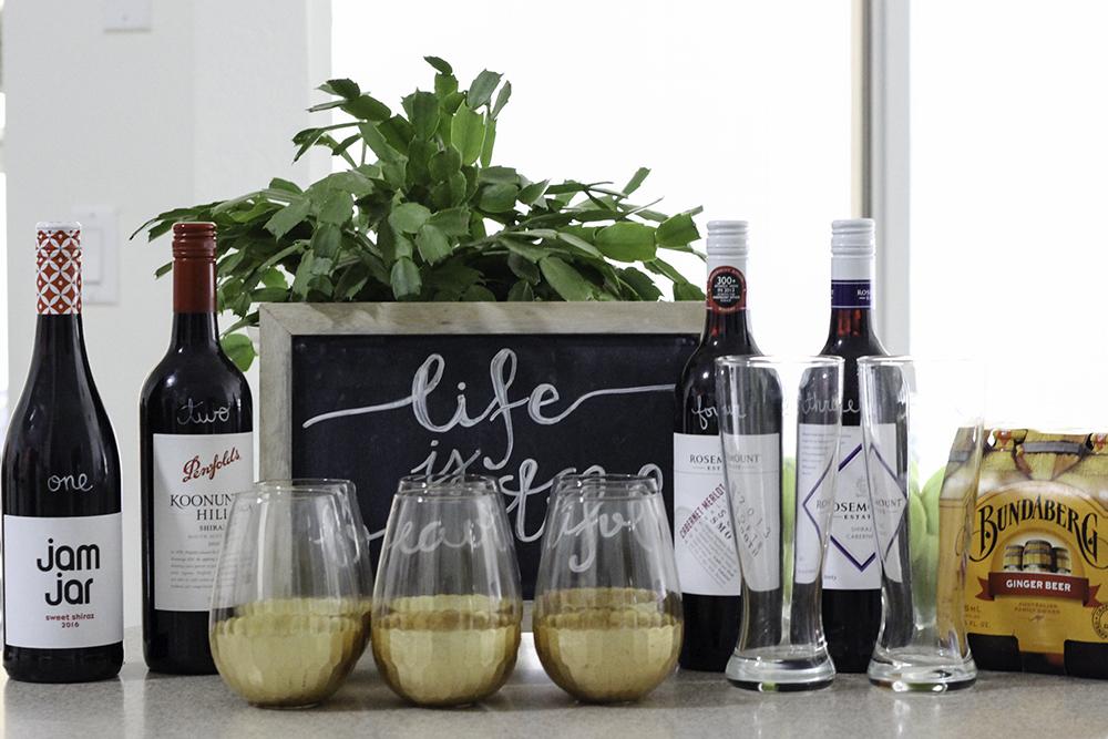 shiraz wine tasting party
