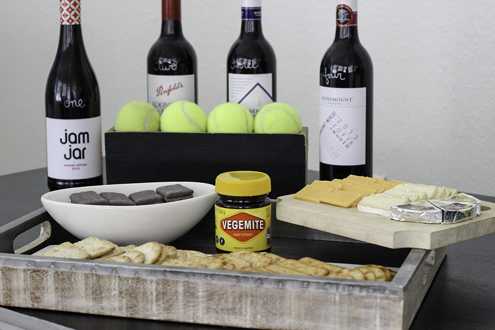 taste of Australia party with Shiraz tasting