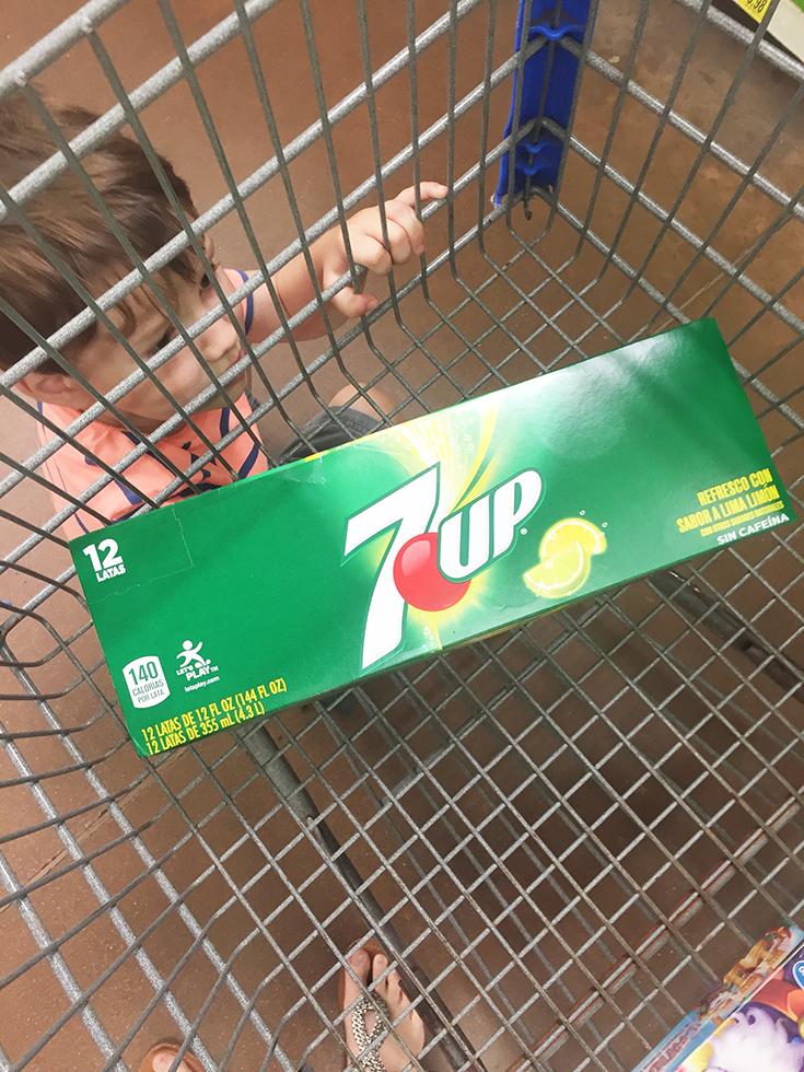 7UP at Walmart