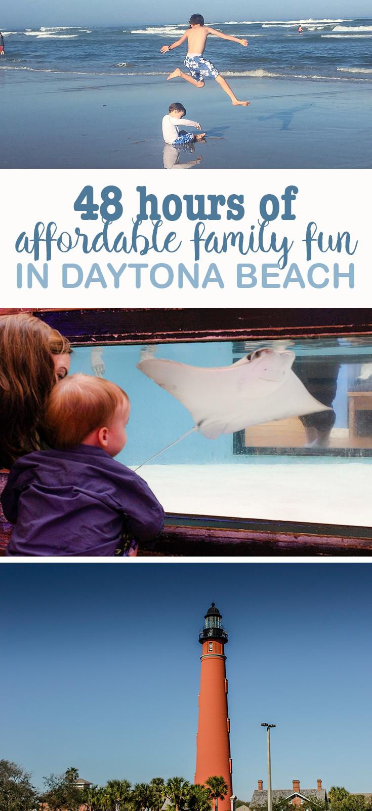 Daytona Beach Family Vacation- 48 hours of affordable family fun in Daytona Beach