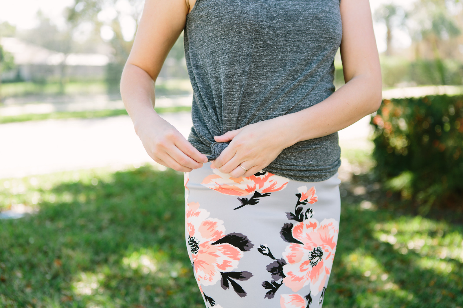 Getting fashiony with Cents of Style skirt
