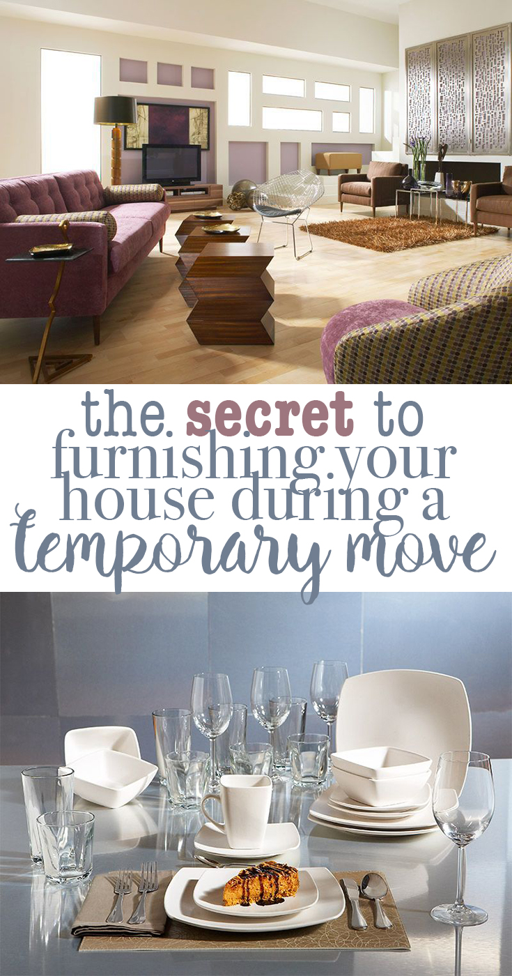 The secret to furnishing your house during a temporary move
