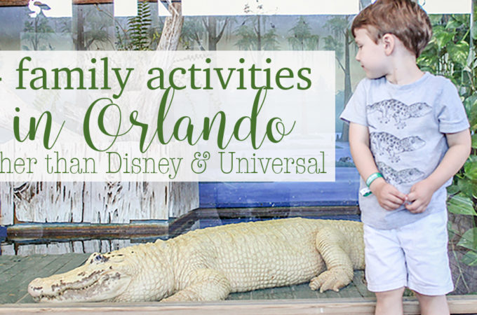 4 family activities in Orlando FB image