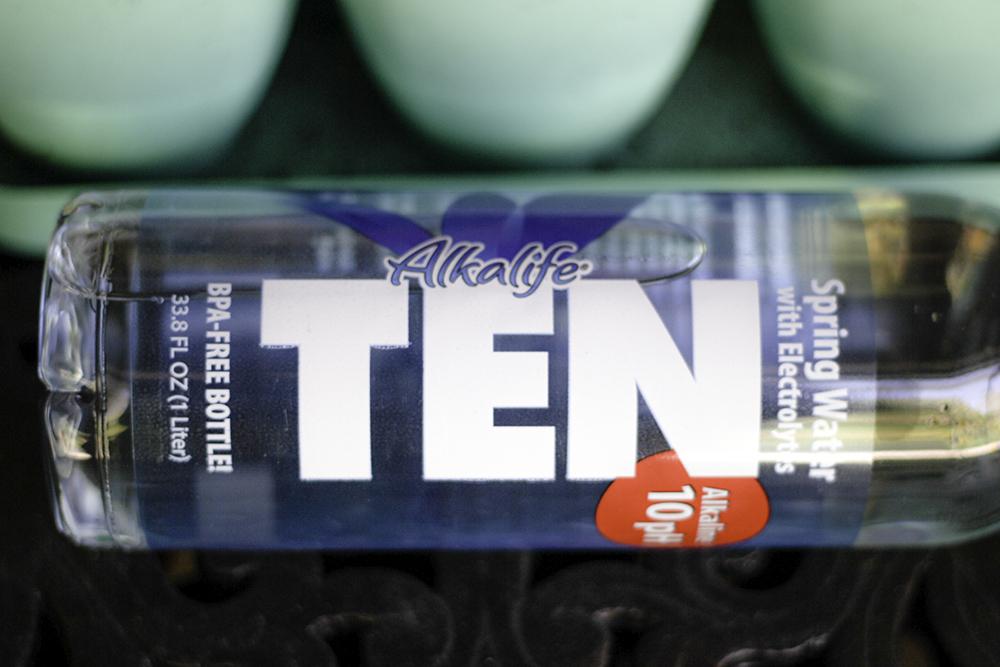 Alkalife TEN water