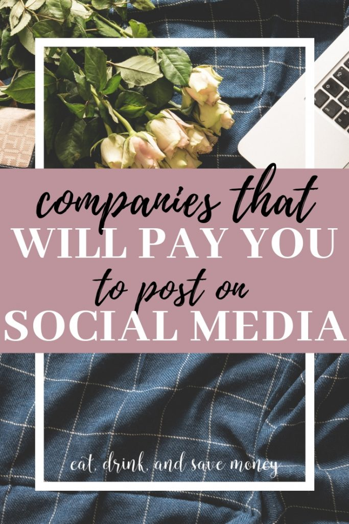 Get this list of companies that will pay bloggers and social media influencers to post on social media. Learn how to become a social media influencer, how to make money as a social media influencer, and even how to get started with a blog.