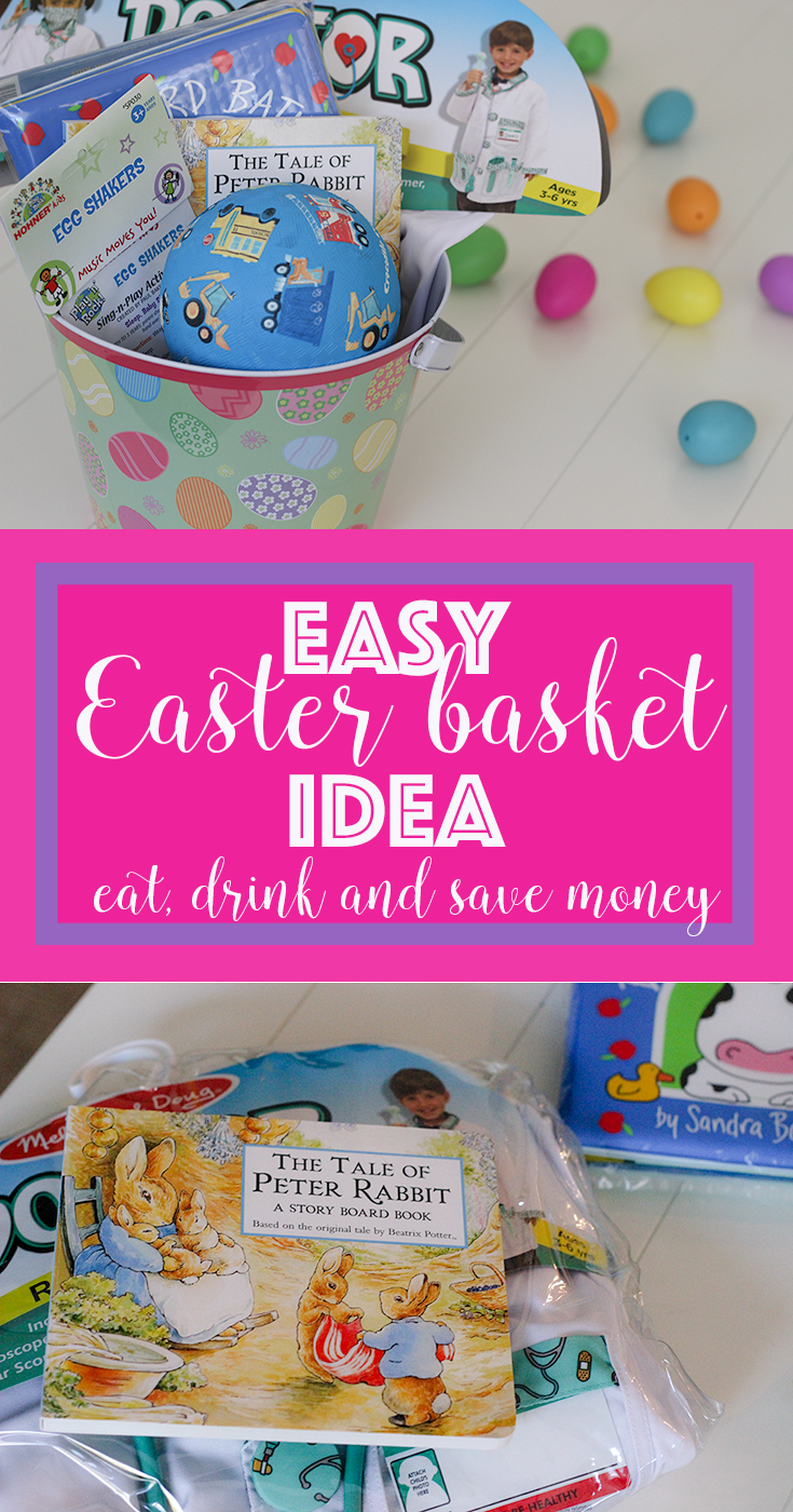 Easy Easter basket idea. This is a simple way to plan your Easter basket
