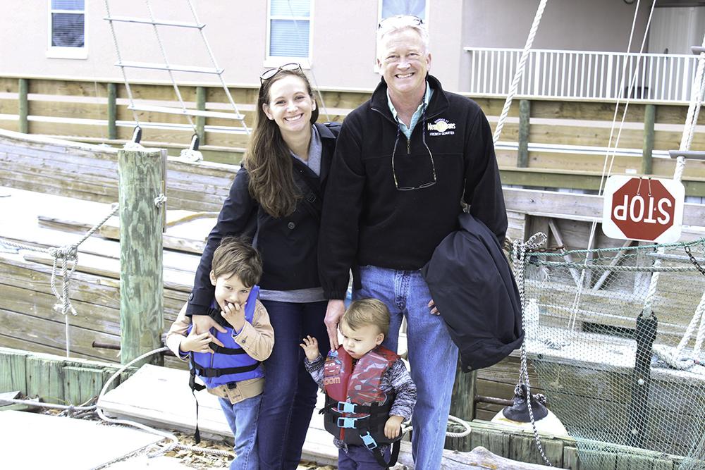 Family pirate cruise in Orange Beach