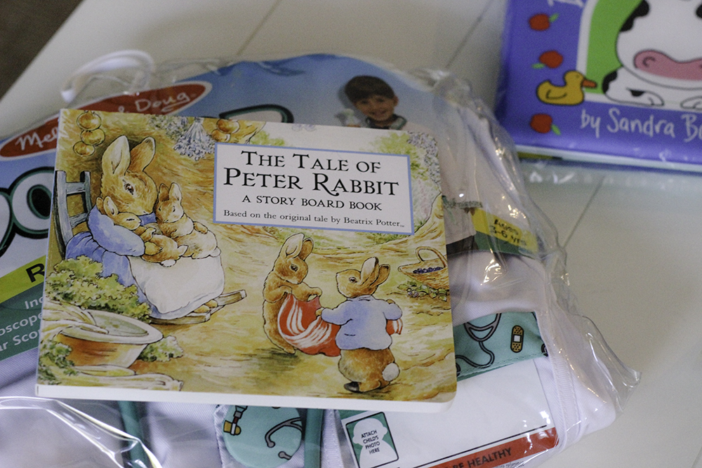 Love Peter the Rabbit for Easter present with Incredibundles