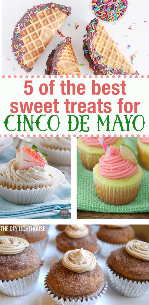 5 of the best sweet cinco de mayo recipes. Sweet treats for Cinco de Mayo