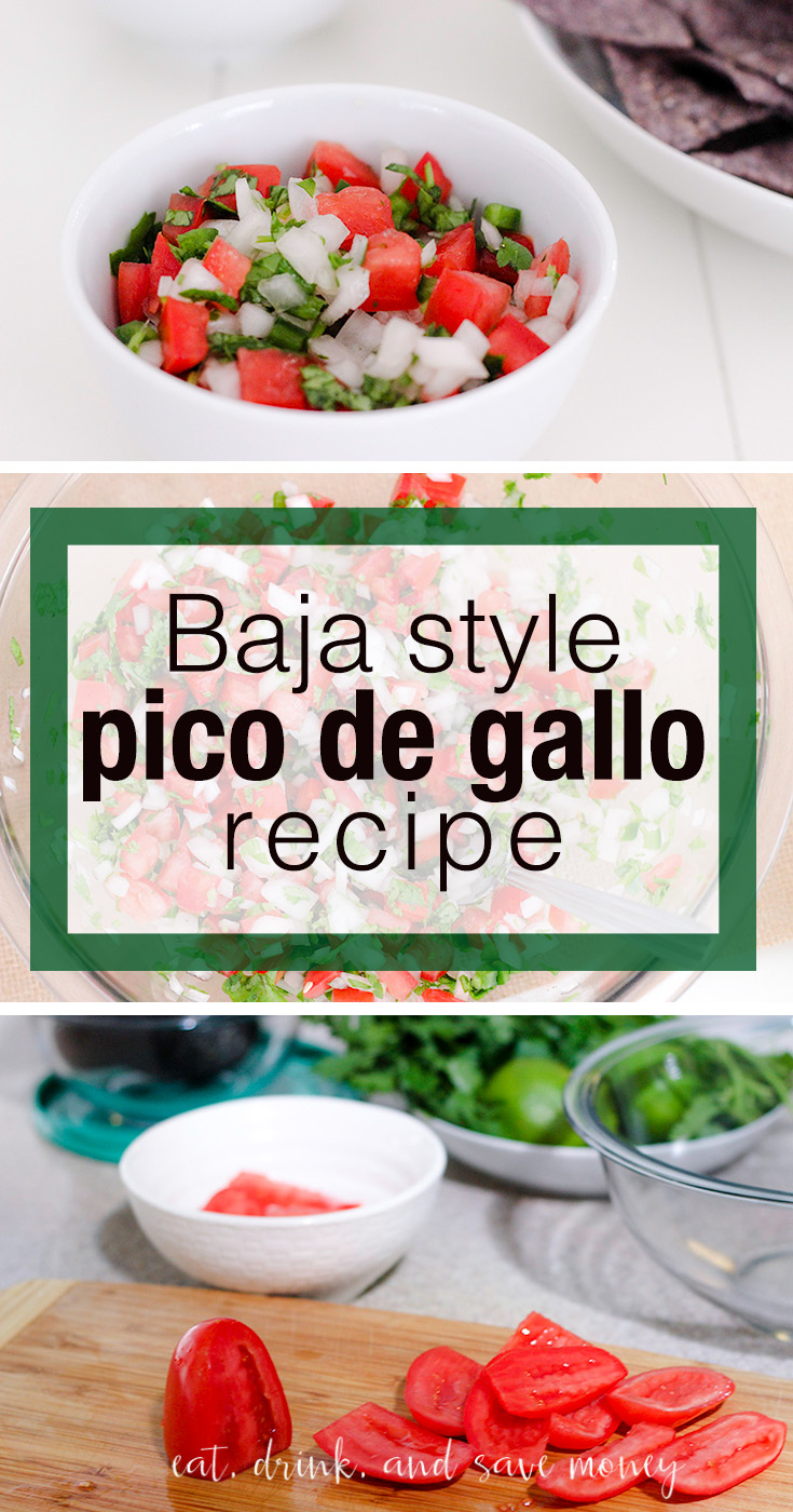 Baja Style Pico De Gallo Recipe perfect for Cinco de Mayo
