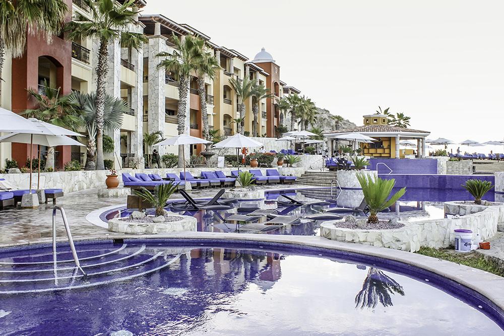 Beautiful pools at the Hacienda Encantada