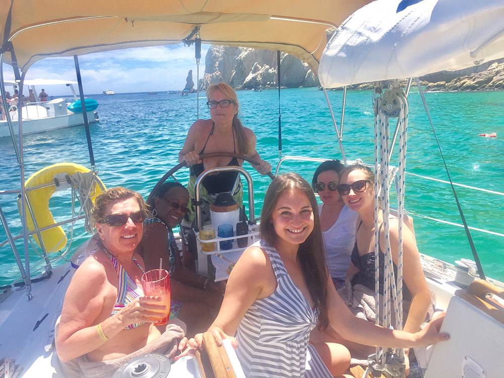 Boating in Cabo San Lucas