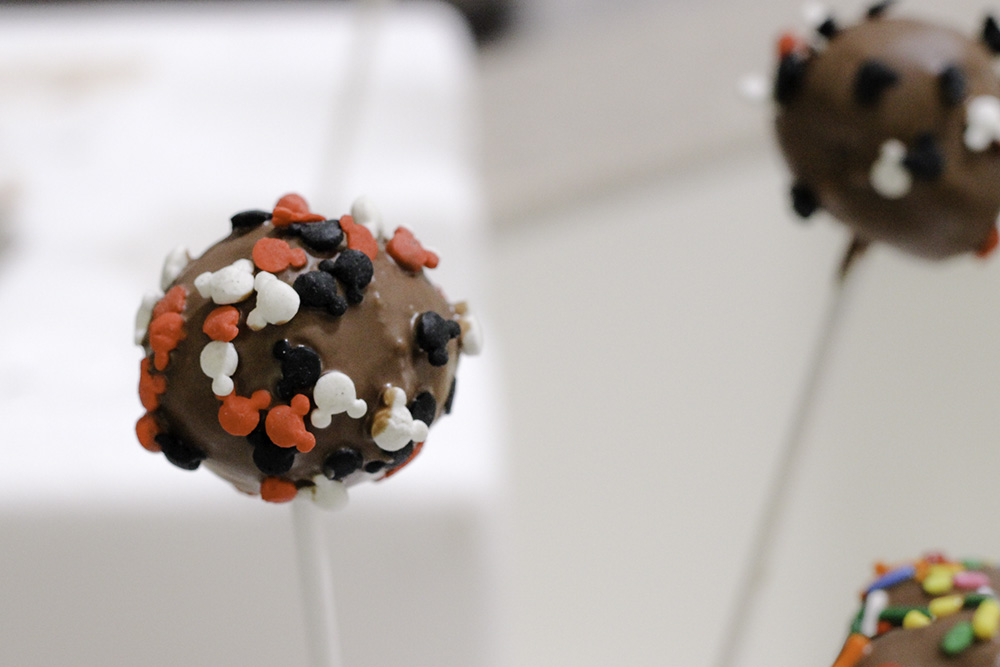 Cake pop experiments