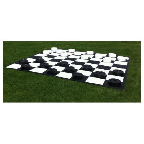 Lawn games: Custom-Game-Source-Giant-Outdoor-Checkers-Game