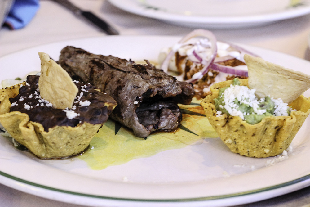 Flank steak at Los Deseos Hacienda encantada