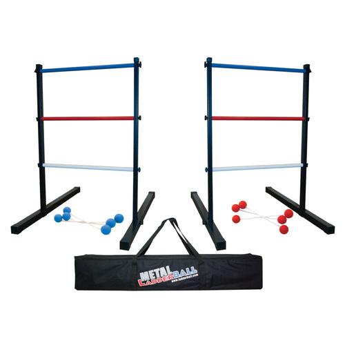 lawn games: Metal+Ladder+Ball+Game