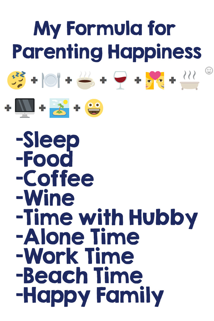 The perfect formula for Parenting Happiness