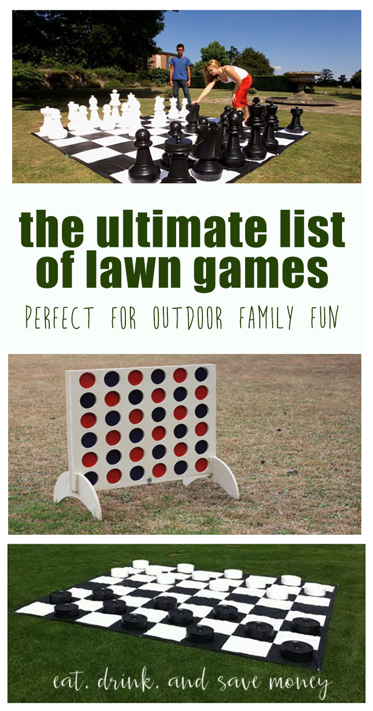 The ultimate list of lawn games perfect for outdoor family fun