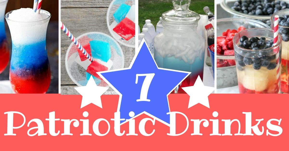 7 Patriotic drinks