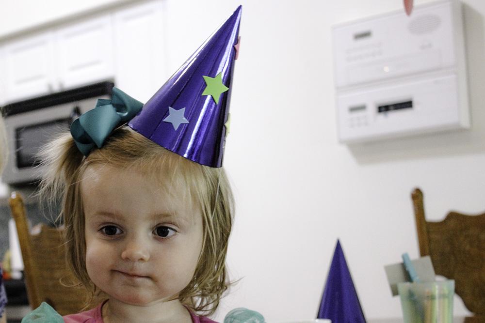 Brielle in her sorcerer mickey hat #disneykids