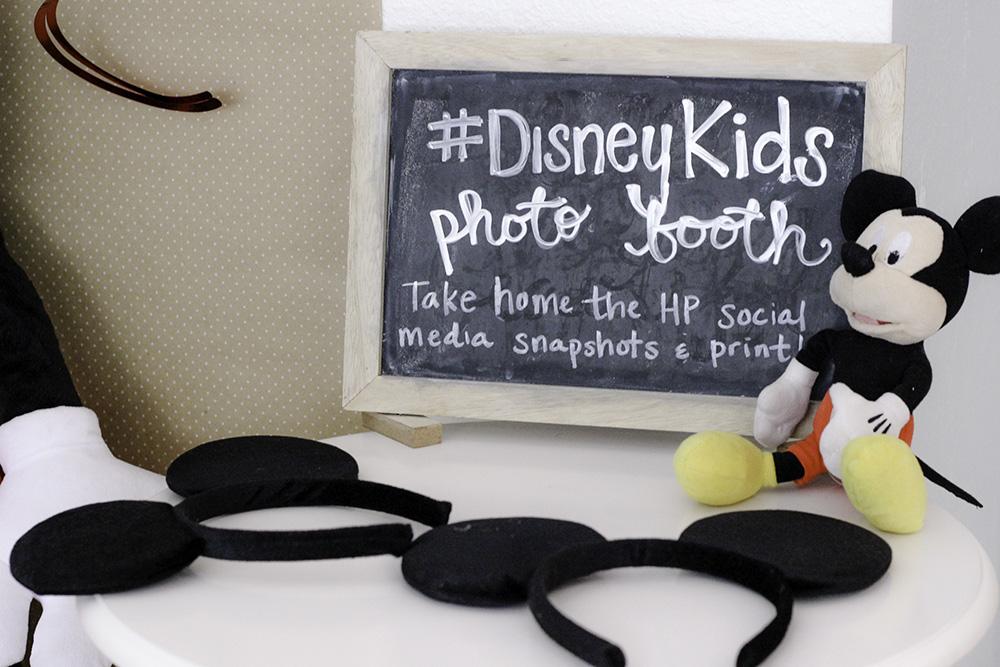 Mickey Themed Party: Disney Kids Photo Booth info #DisneyKids