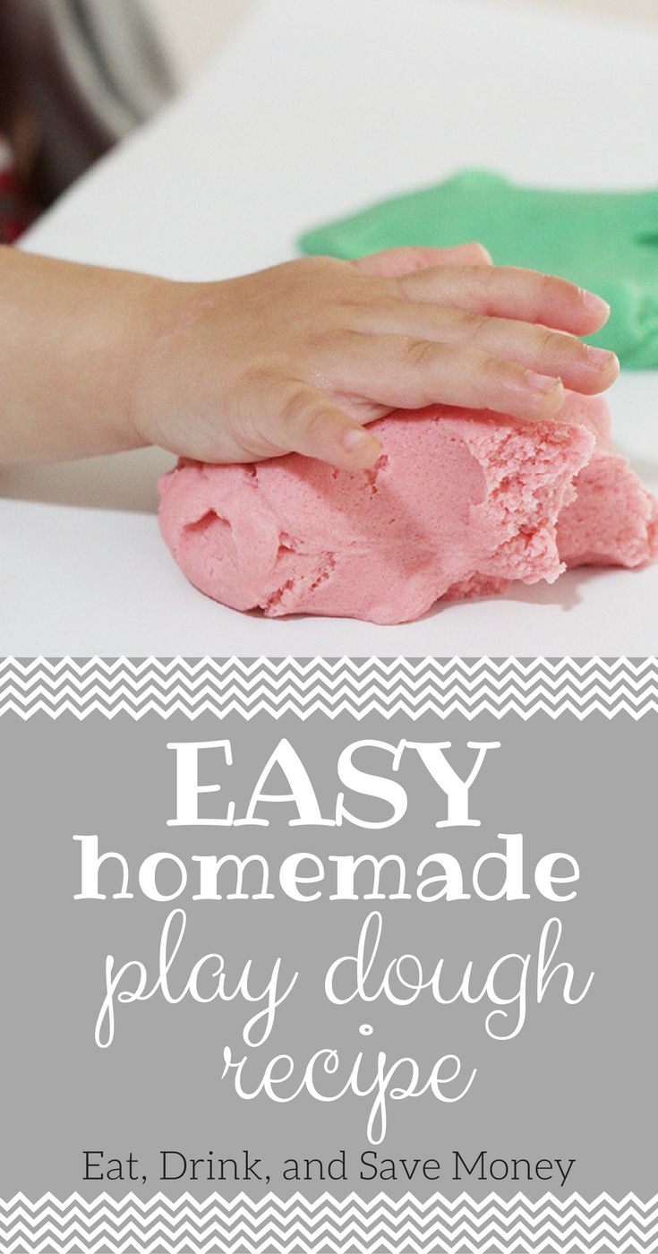 Easy homemade Play dough recipe-2
