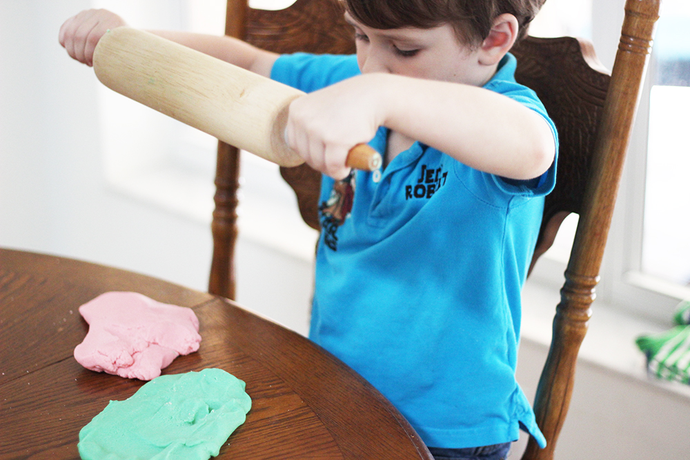 Get creative and make your own play dough