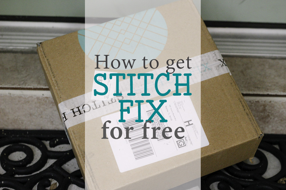How to get Stitch Fix for Free FB