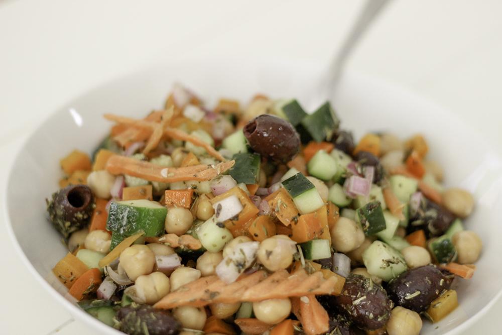 Marinated Vegetable & Chickpea Salad