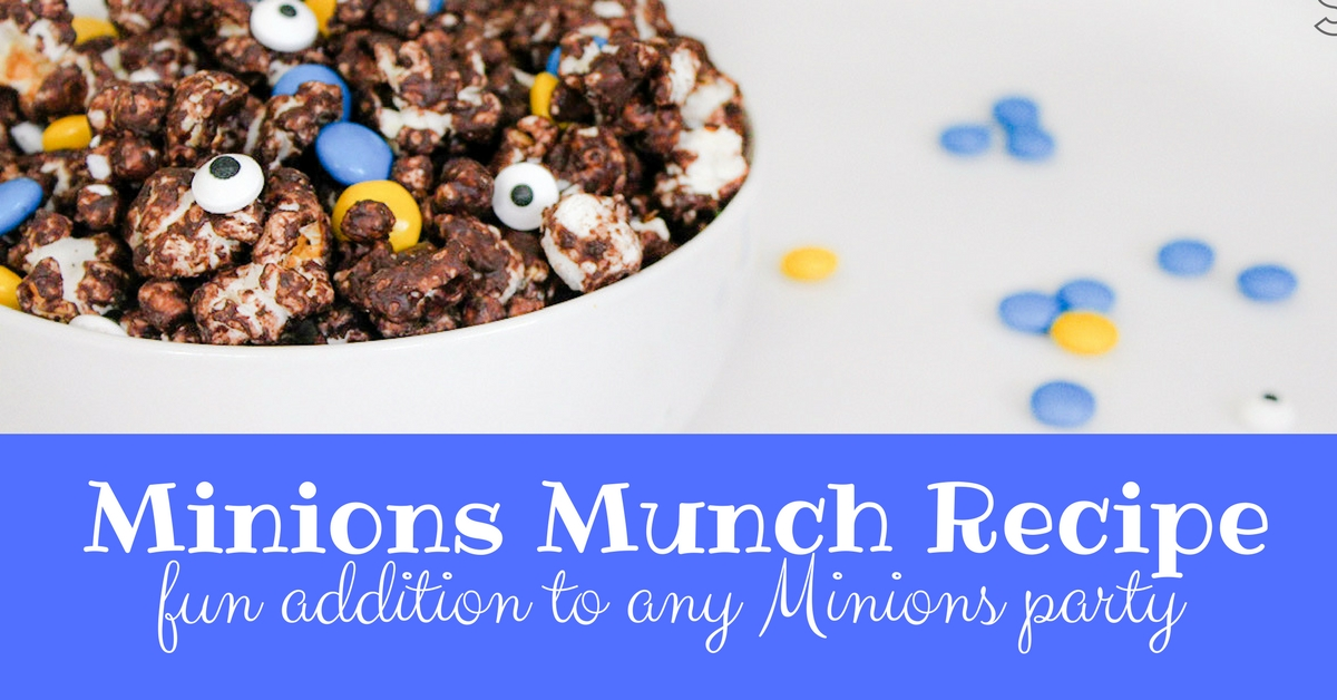 Minions Munch Recipe is a fun addition to any Minions party