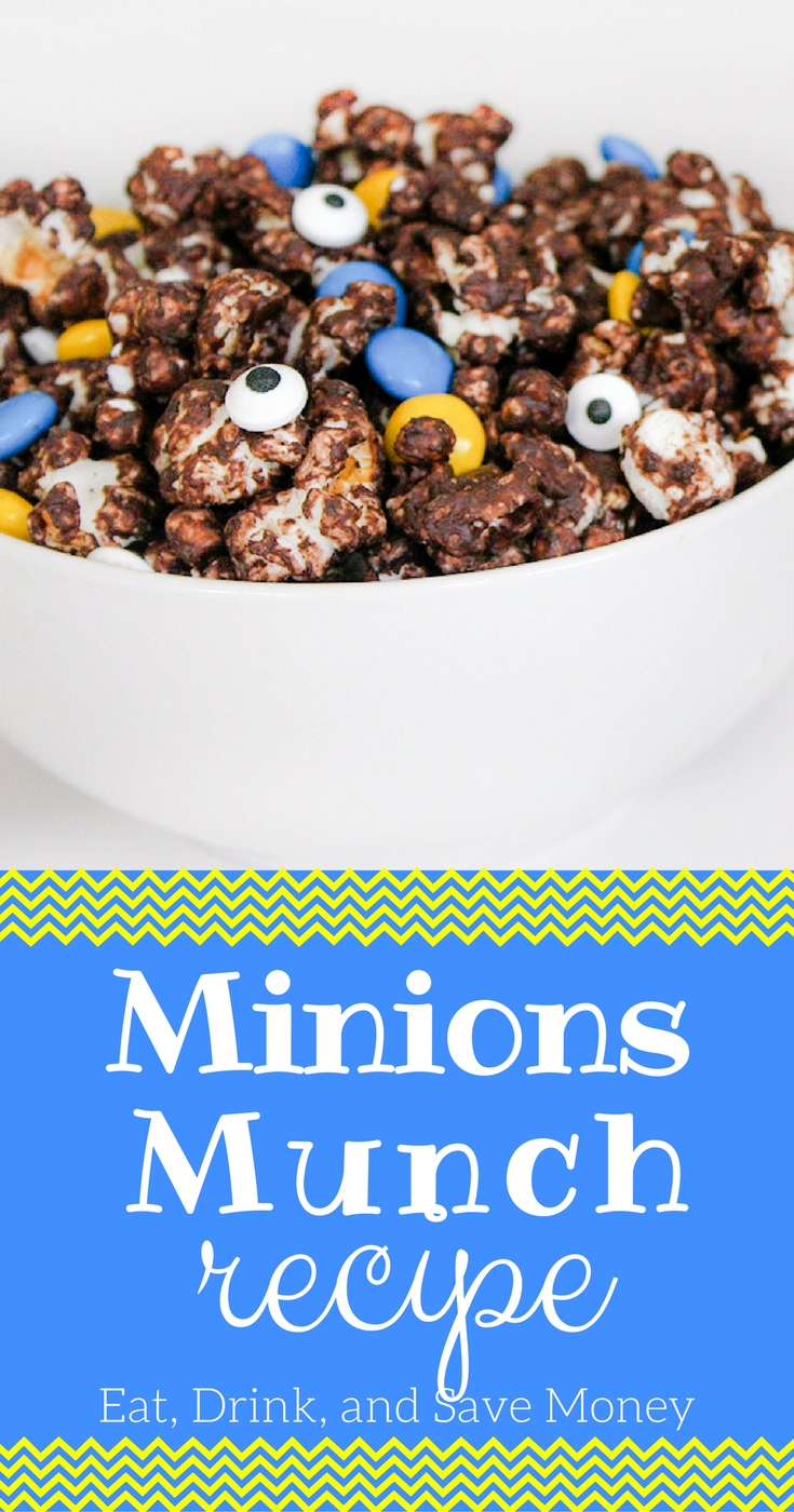 Minions munch recipe_ Make your own fun Minions themed food for a Minions party or Minions viewing.