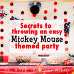 How to Throw an Easy Mickey Mouse Themed Party