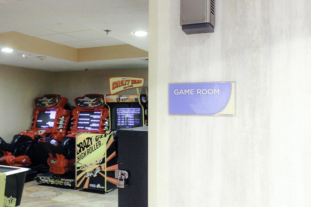 Affordable Disney hotel- Wyndham Disney Springs Game Room