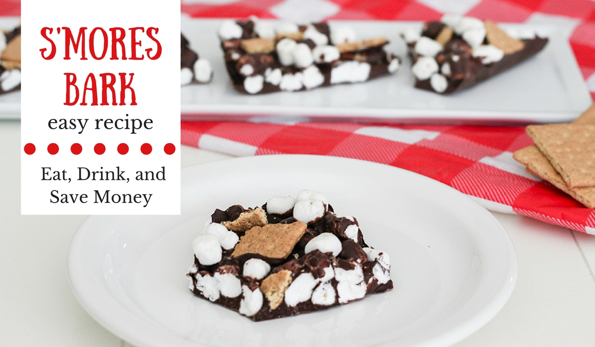s'more bark recipe