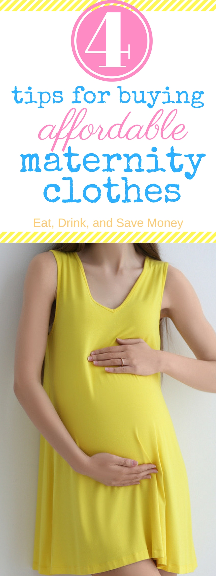 4 tips for buying affordable maternity clothes, get inexpensive maternity clothes, how to find cheap maternity clothes