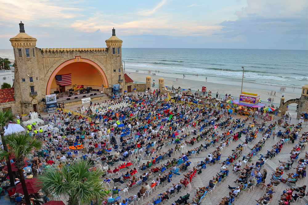 Free Concerts at the Bandshell in Daytona Beach, FL