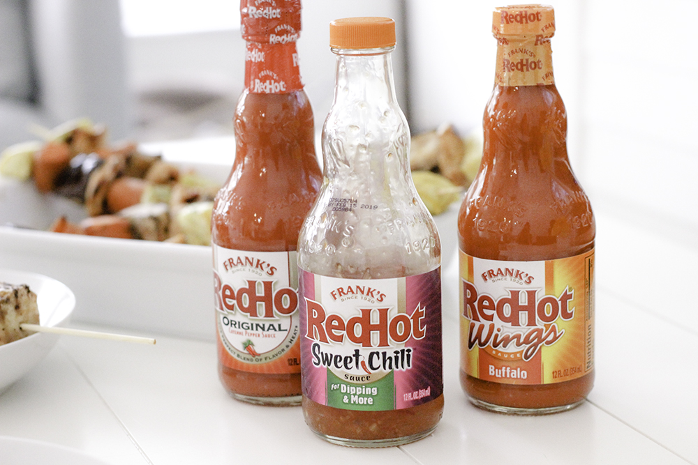 Franks Red Hot Sauces