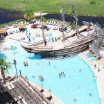 Super cool pirate pool at Lake Buena Vista Resort Village and Spa