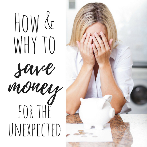 How and why to save money for the unexpected square