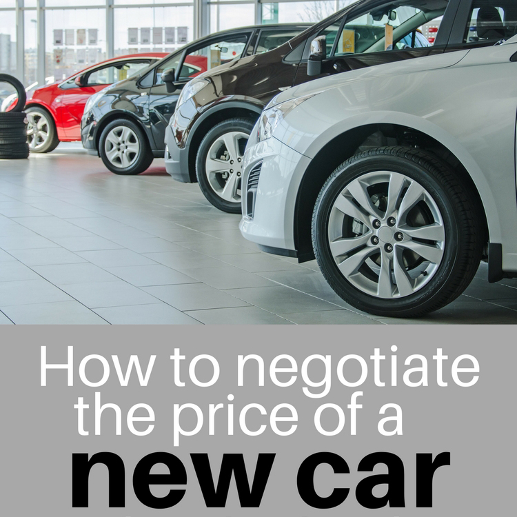 Square how to negotiate the price of a new car