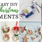 125 Easy DIY Christmas Ornaments