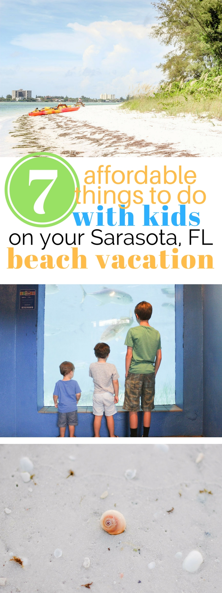 7 affordable things to do with kids on your Sarasota, FL beach vacation