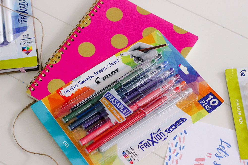 Easy back to school teach gift with pens