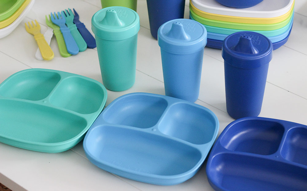 Great toddler and baby tableware from Replay Recycled